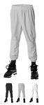 Pull Up Baseball/Softball Pants by Alleson - 604PDK2