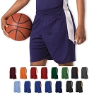 Reversible Basketball Shorts by Alleson Single Ply Men, Youth, Ladies'
