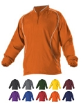 Pullover Long Sleeve by Alleson - 1/4 Zip Batters Men- Closeout