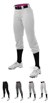 Softball Pants by Alleson - Belted Speed Premium Item # 615PS