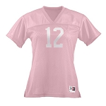 Pink Football Tee by Augusta Ladies, Girls, Toddlers