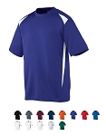 Augusta Premier Crew Shirt Adult/Youth-CLOSEOUT