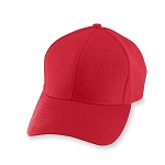 Clearance Augusta Athletic Red Mesh Cap