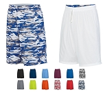Reversible Shorts by Augusta  - Wicking Men, Women