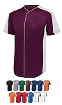 Augusta Full Button Baseball Jersey