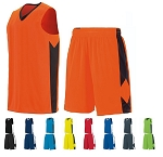 Basketball Uniforms Jersey and Short by Augusta - Block Out