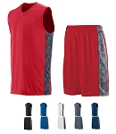 Augusta Fast Break Game Basketball Uniforms Jersey and Short Closeout