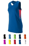 Augusta Inferno Racerback Jersey Ladies/Girls Closeout