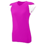 Augusta MVP Pink Jersey Ladies/Girls-CLOSEOUT