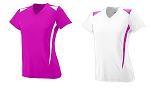 Augusta Premier Jersey Ladies/Girls-Power Pink