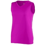 Augusta Pink Storm Jersey Ladies & Girls-CLOSEOUT