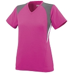 Augusta Mystic Pink Short Sleeve Ladies/Girls