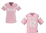 Augusta Pep Rally Replica Pink Football Jersey