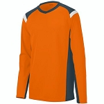 Augusta Oblique Long Sleeve Jersey-CLOSEOUT