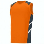 Augusta Oblique Sleevelesss Jersey-CLOSEOUT