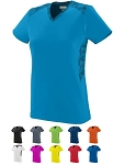 Short Sleeve V-Neck Jersey by High Five - Vigorous Closeout