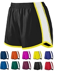 Running Shorts with liner by Augusta - Junior Fit Pulse Ladies/Girls