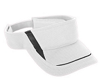 Augusta Adjustable Wicking Mesh Edge Visors-CLOSEOUT