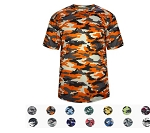 Short Sleeve Jerseys by Badger - Full Camo Tee