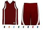 Reversible Basketball Uniforms Jersey and Short by Badger - B-Slam