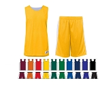 Reversible Basketball Uniforms Jersey and Short by Alleson - Challenger -CLOSEOUT