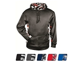Badger Camo Color Block Hoodie Closeout