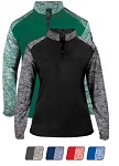 Pullover Long Sleeve by Badger - 1/4 Zip Sport Blend