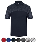 Polo Shirt by Badger - Tonal Blend