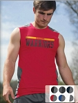 Badger Line Embossed Fitted Sleeveless Tee -CLOSEOUT