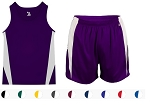 Track Singlet and Shorts with liner by Badger Stride