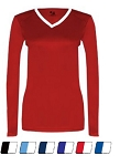 Badger Dig Ladies Long Sleeve Jersey Closeout