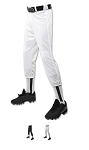 Pull Up Baseball/Softball Pants by Champro Looper Performance w/Belt Loops
