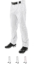 Baseball Pants by Champro - 13 oz Triple Crown Pinstripe Open Bottom