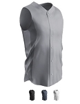 Sleeveless Full Button Baseball Jersey by Champro - Reliever