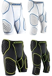 Bull Rush Football Girdle Protective Compression Apparel by Champro  Padded