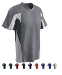 V-Neck Short Sleeve Jerseys by Champro - Relief