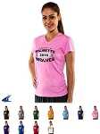 V-Neck Tee Shirts for Ladies/Girls' by Champro - Star