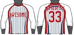 Champro Custom Sublimated Raglan 3/4 Sleeve Tees (Diamond)