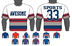 Champro Custom Sublimated Crew Neck Jerseys