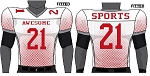 Champro Custom Sublimated Football Jerseys (Blitz)