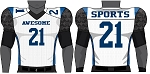 Champro Custom Sublimated Football Jerseys (Laser)