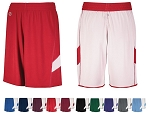 Reversible Basketball Shorts By Holloway - Dual-Side Single Ply