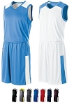 Holloway Nuclear Reversible Basketball Uniforms Jersey and Short Closeout