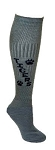 Paw Print Custom Knee High Socks by Pearsox (PC100TANPAW)