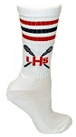 Custom Elite Crew Socks by Pearsox - Lacrosse  (PCRE3LIN)