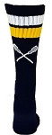 Custom Crew Socks by Pearsox - Lacrosse  (PCLAC2)