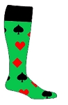 Cards Custom Knee High Socks by Pearsox