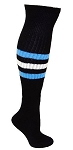 Custom Stripe Knee High Baseball Socks  by Pearsox - Calf Stripe (PCCALF)