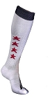 Custom Soccer Socks with Stars by Pearsox (PCXSTARS)