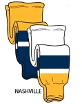 Pearsox Pro Weight Hockey Socks - Nashville